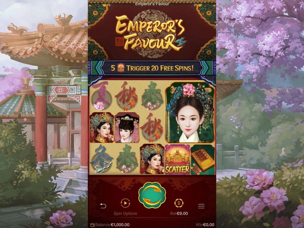 ลักษณะของเกม Emperor's Favour