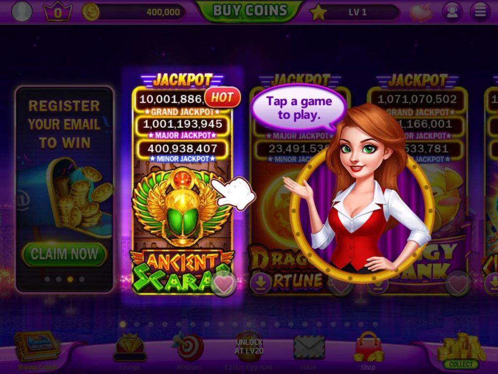 แอพ Golden Casino - Vegas Slots เกมสล็อตที่มีรางวัลใหญ่มากมาย