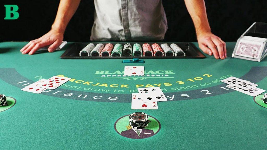 Blackjack ไพ่ 21 เกมที่เล่นโดยใช้ทริคต่าง ๆ
